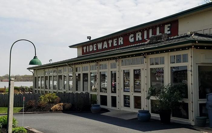 Tidewater Grille restaurant waterfront.